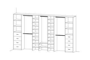 Wardrobe Shelving Designs