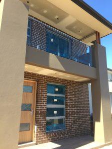 2 x Panel Balcony Balustrade