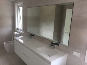 Reverse Bevelled Edge Mirror
